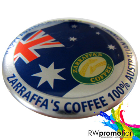 Zaraffas Metallic Badge