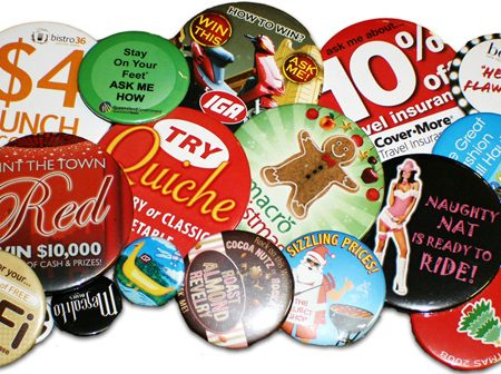 Express Custom Button Badges