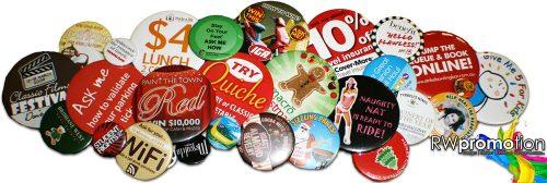 Express Custom Button Badges